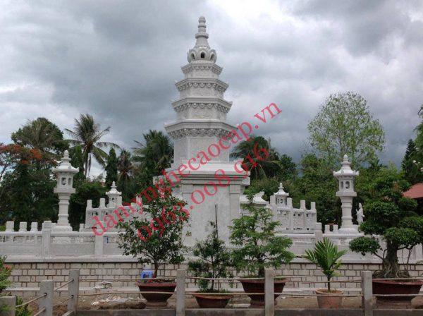 Mẫu Mộ tháp đá Mộ bảo tháp đá Ninh Bình