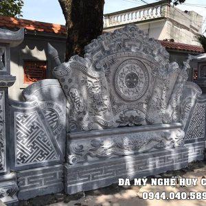 Đặt Cuốn thư đá (Bình phong đá) cho Nhà thờ, Bảo điện, Đình, Chùa, Khu Lăng mộ đá,...