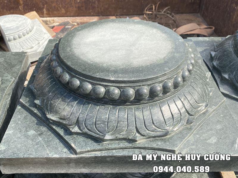 Mẫu Chân cột đá (Chân tảng đá) kê cột gỗ Nhà thờ, Đình, Chùa,...