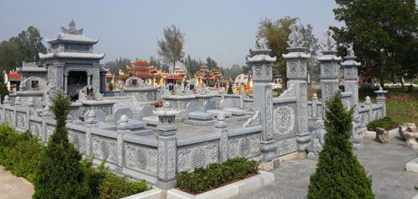 Xây Lăng mộ đá, Mộ đá cao cấp tại Ninh Bình
