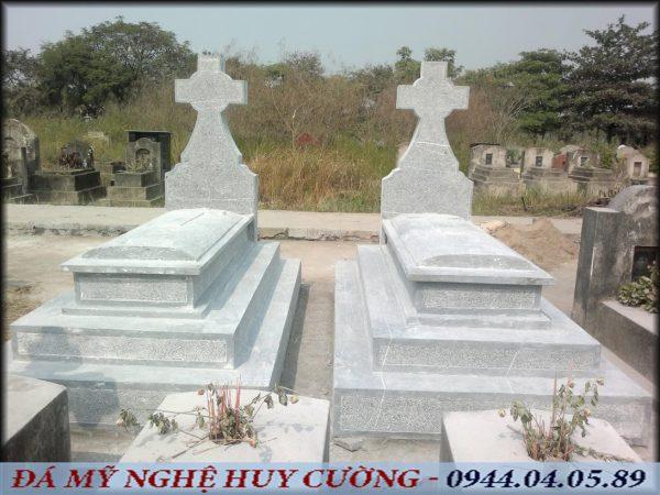 mộ đá công giáo đơn gian đẹp