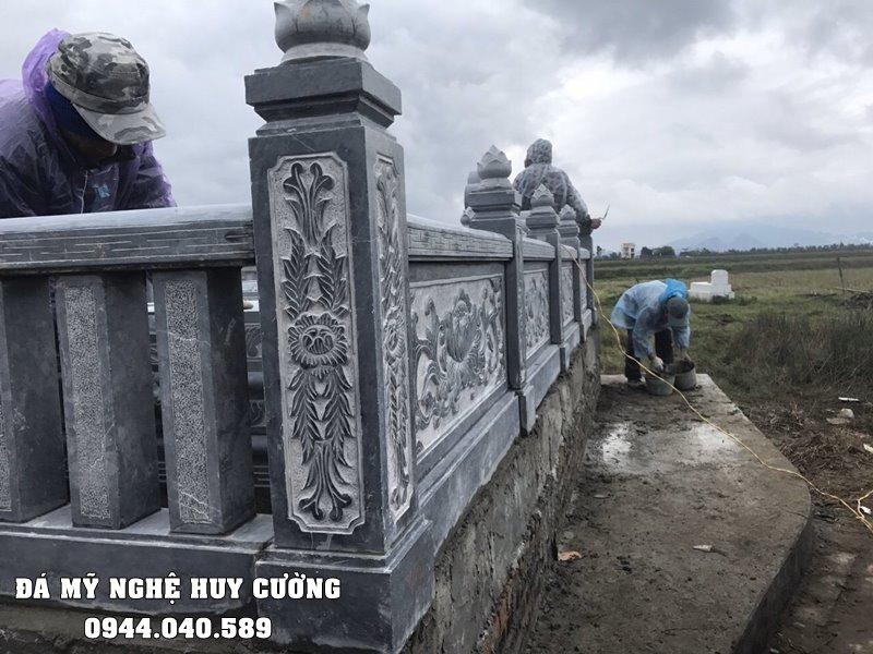 Cot tru da Lan can DEP cua Lang mo da xanh