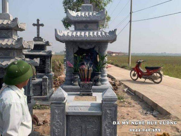 Mẫu mộ công giáo đẹp tại Ninh Bình