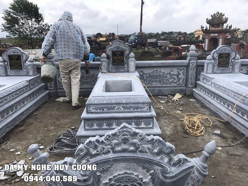 Mau Mo da Tam Son DEP cho Lang mo da xanh Huy Cuong