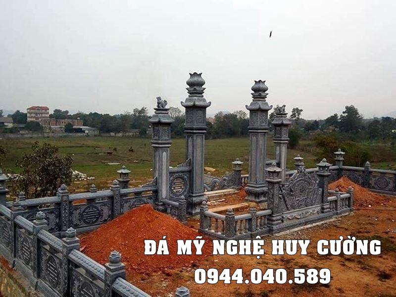 Xay Lang mo da dep tai Ninh Binh